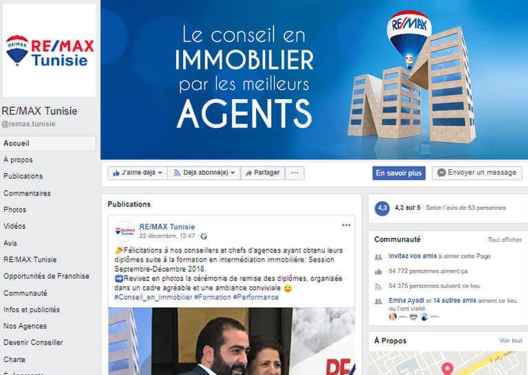 Agence de Communication digitale Tunisie
